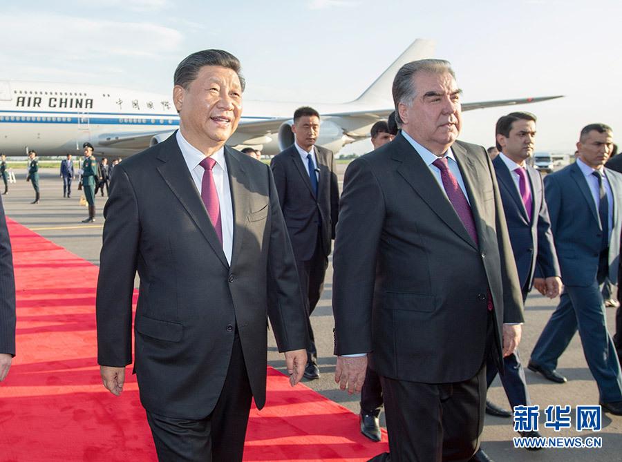 시진핑 주석, 제19차 SCO 정상회의 기조연설