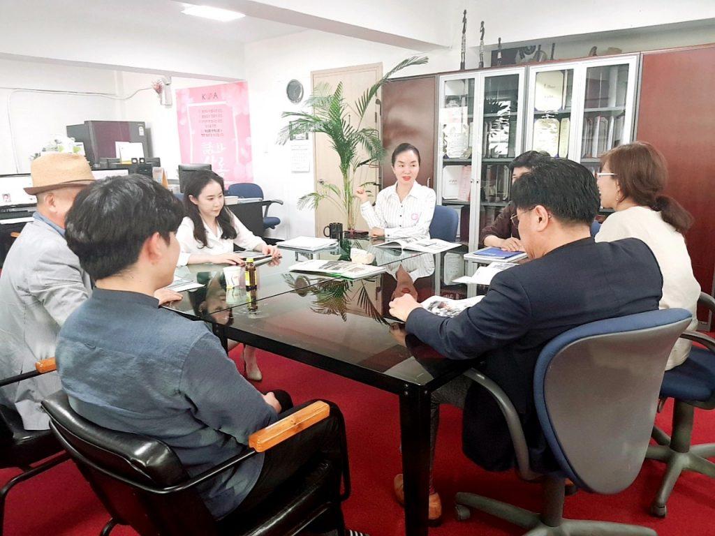 """제 21회 """"화"""" 살롱(2019년 7월 2일)"""